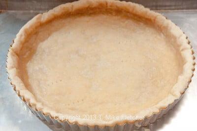 Par baked crust