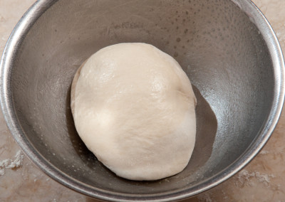 Dough in bowl