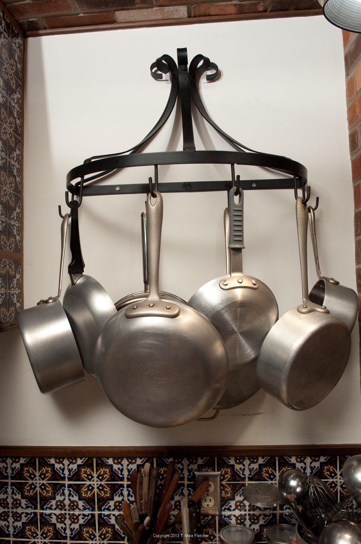 Lovely Pot And Pan Rack. How To Food Equipment