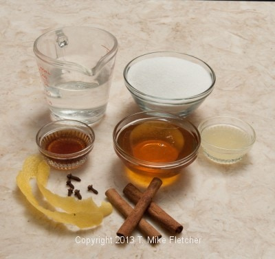 Honey Syrup ingredients