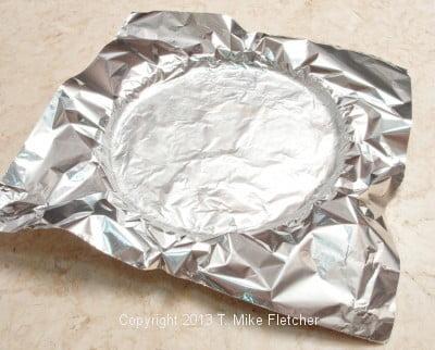 Foil on crust