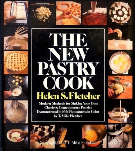 The New Pastry Cook, Recipe Books