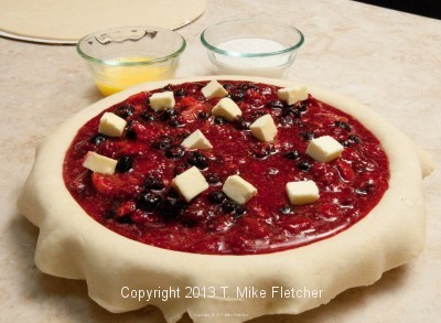 filled pie