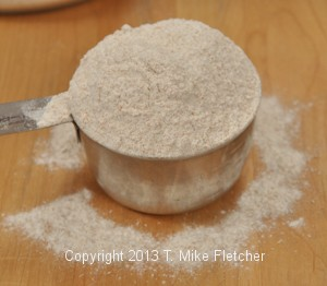 flour overvlowing