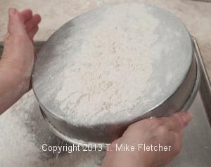 Tilting pan 3