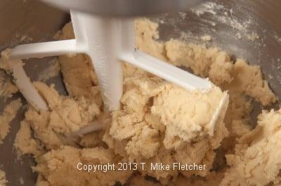 Dough mixed
