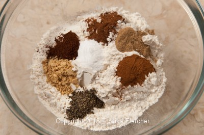 Dry ingredients 1