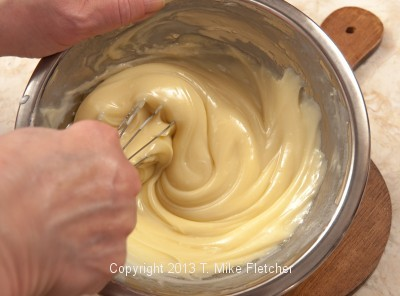Whisking Cream, maderia in