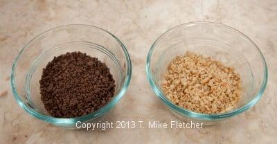 Chocolate/Hazelnuts processed