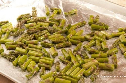 Asparagus Lemon Risotto Cakes