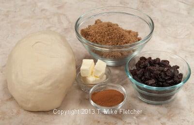 Cinnamon Bread Ingredients