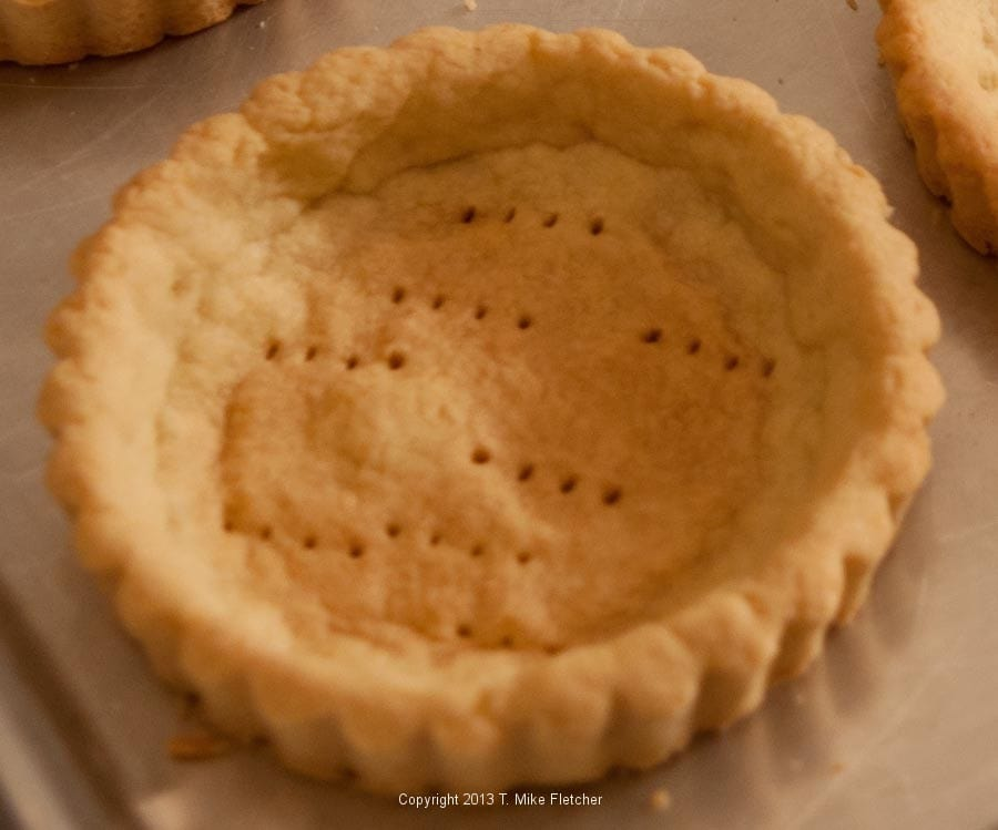 how to add buttee tart filling to baked tart