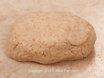 dough kneaded