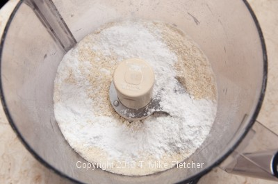 Powdered sugar in