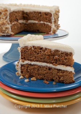 Carrot Cake, finished photo