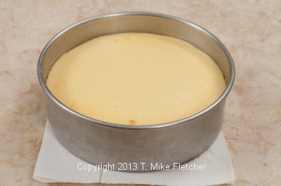 Cheesecake on paper