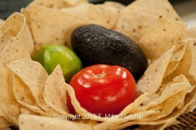 Guacomole ingredients