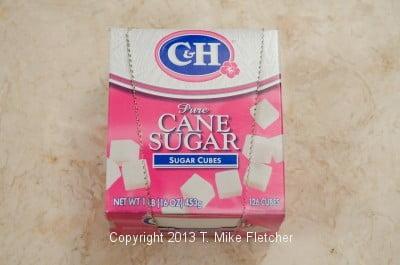 Sugar cube bo