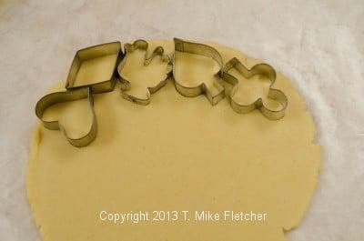 Cutter in dough