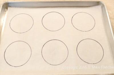 6 circles drawn