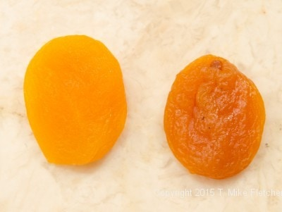 Dried apricots for Viennese Apricot Torte