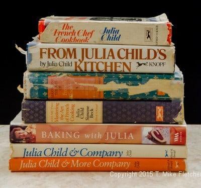 Julia Child's Cookbooks