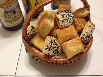 Puff Pastry Crackers