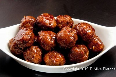 Spicy Meatballs for The Last Minute Appetizers