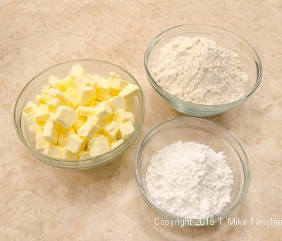 Ingredients for Updated Lemon Bars
