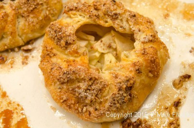 Baked apple crostata for Apple Crostatas with Pastry Cream