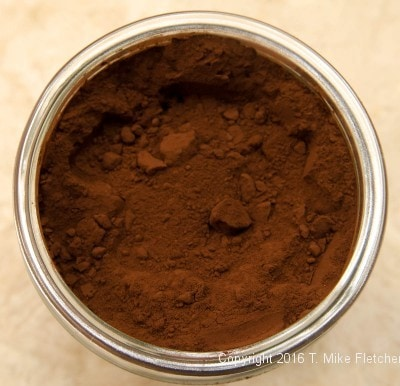 Container of cocoa for Additional Baking Tips