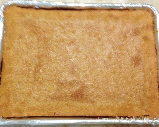 Baked Almond Raspberry Triangles