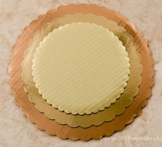 Gold rounds for Internet Bakry Suppliers of Cake Paper Goods