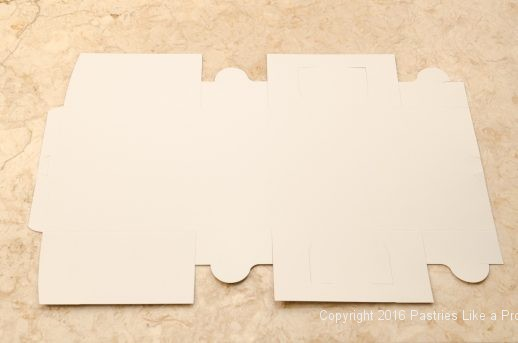 White box for Internet Bakery Suppliers of Cake Paper Goods