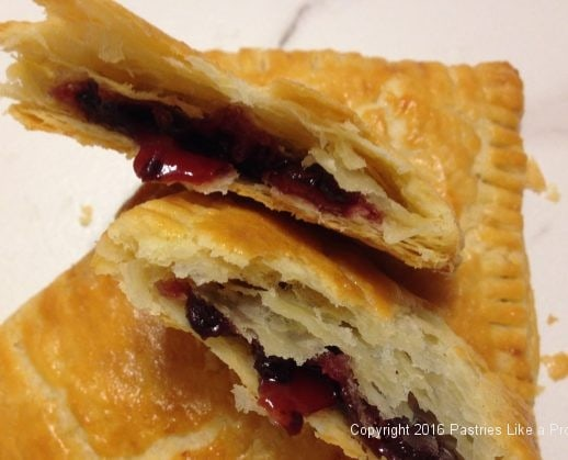 Chocolate Raspberry Pop Tarts