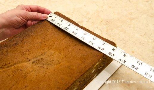 Measuring for the Honey Diamonds