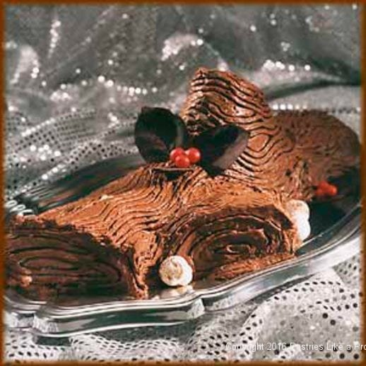 Buche de Noel for Holiday Baking