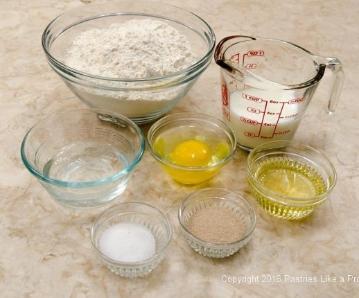 Ingedients for Stuffed Italian Bread