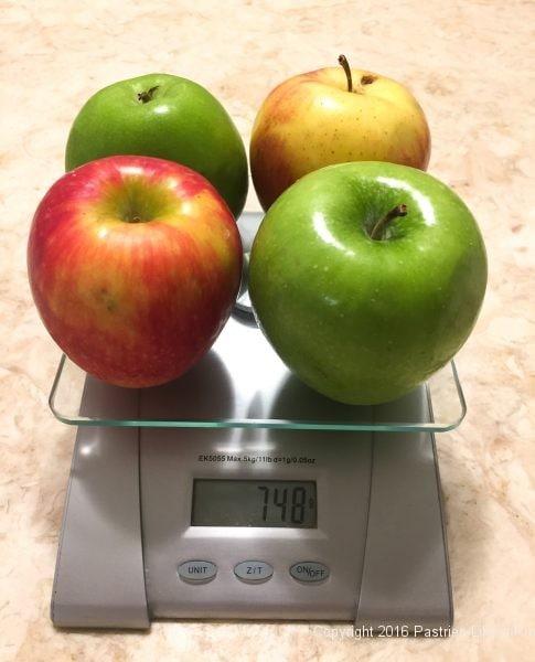 Apples for Honey Thyme Apple Tart
