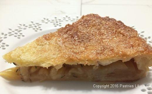 Honey Thyme Apple Tart