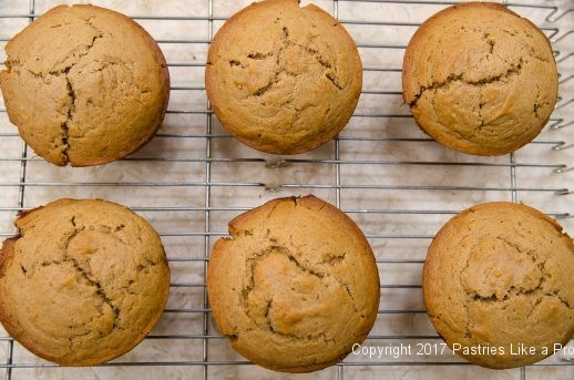 Baked muffins for Easy PBJ Muffins - An Anytime treat