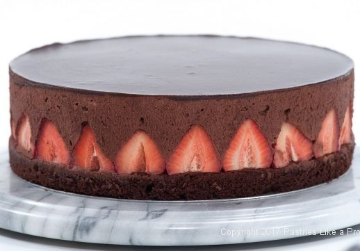 Chocolate Strawberry Mousse Cake for Exceptional Mother's Day Cakes