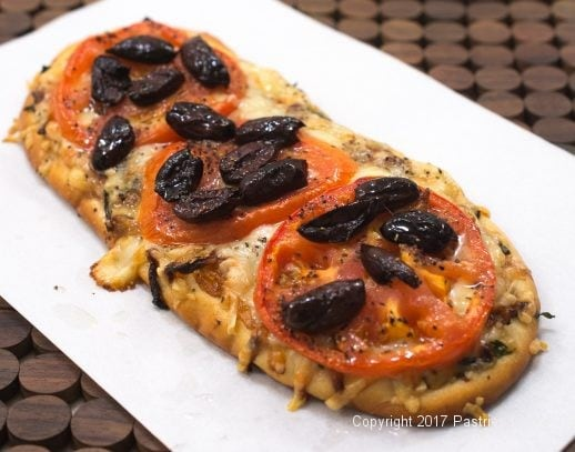 Baked French Flatbread for International Flatbreads