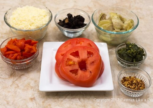 Ingredients for Italian International Flatbreads