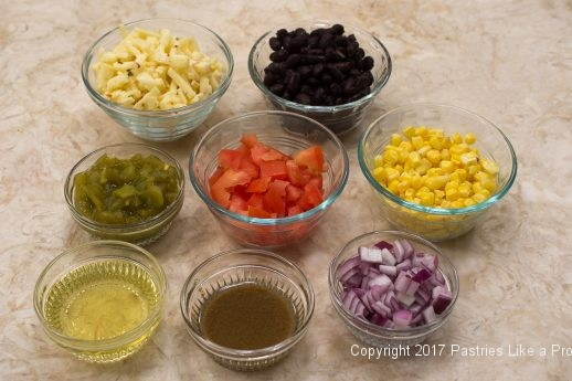 Southwestern ingredients for International flatbreads