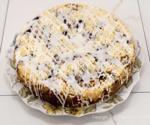 Blueberry Crumb Coffeecake