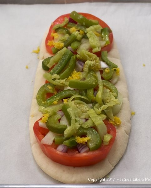 Pepperoncini on for International Flatbreads