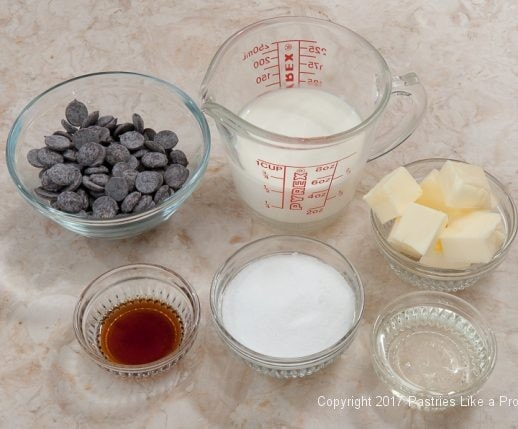 Ingredients for Helen's Hot Fudge for the Ultimate Hot Fudge Marshmallow Sundae